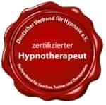 Siegel zertifizierte Hypnosetherapeutin