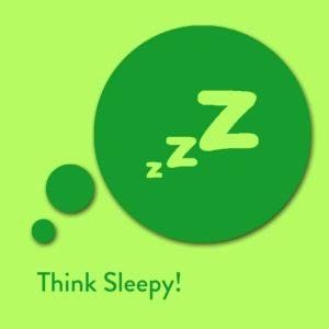 Think Sleepy! Affirmationen zum Einschlafen