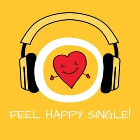 Feel Happy Single! Glücklicher Single sein mit Hypnose