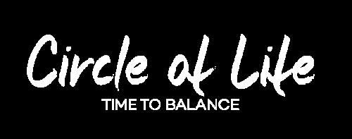 Circle of life Logo weiß